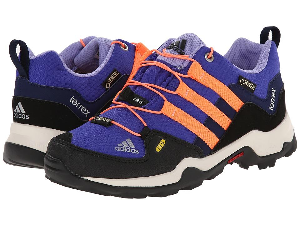 adidas Outdoor Kids - Terrex GTX (Little Kid/Big Kid) (Night Flash/Flash Orange/Night Sky) Girls Shoes