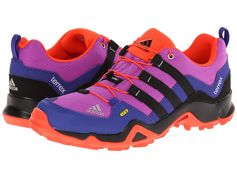 adidas Outdoor Kids - Terrex (Little Kid/Big Kid) (Flash Pink/Black/Night Flash) Girls Shoes