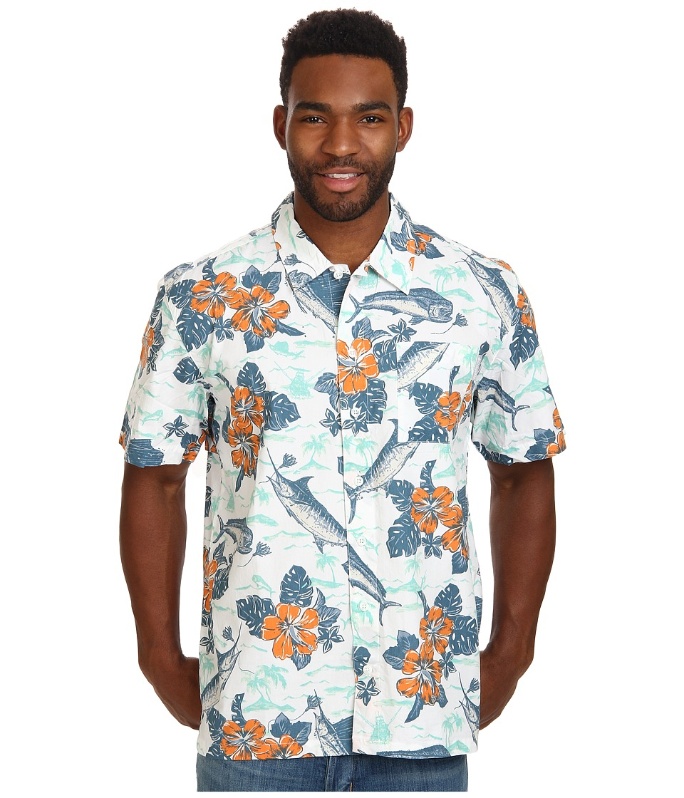 Columbia - Trollers Best S/S Shirt (Jupiter Hawaiian Gamefish Print) Men's Short Sleeve Button Up
