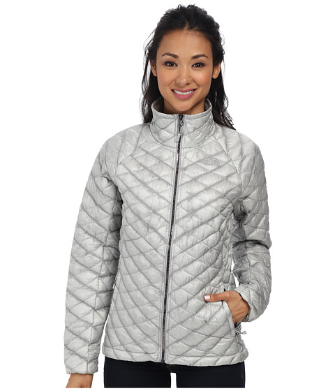 The North Face - ThermoBall Full Zip Jacket (High Rise Grey/Mid Grey) Women