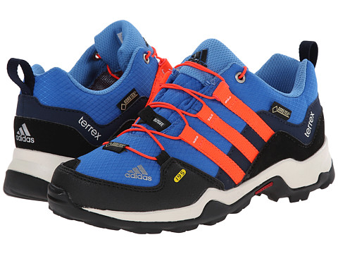 adidas Outdoor Kids - Terrex GTX (Little Kid/Big Kid) (Bright Royal/Solar Red/Black) Boys Shoes
