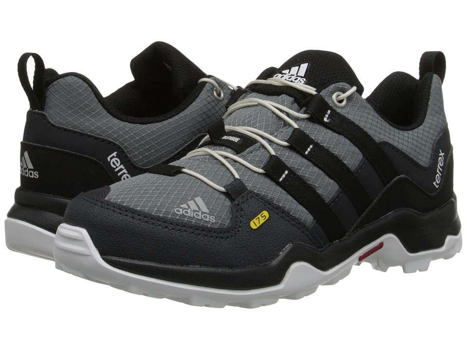 adidas Outdoor Kids - Terrex (Little Kid/Big Kid) (Vista Grey/Black/Semi Solar Yellow) Boys Shoes