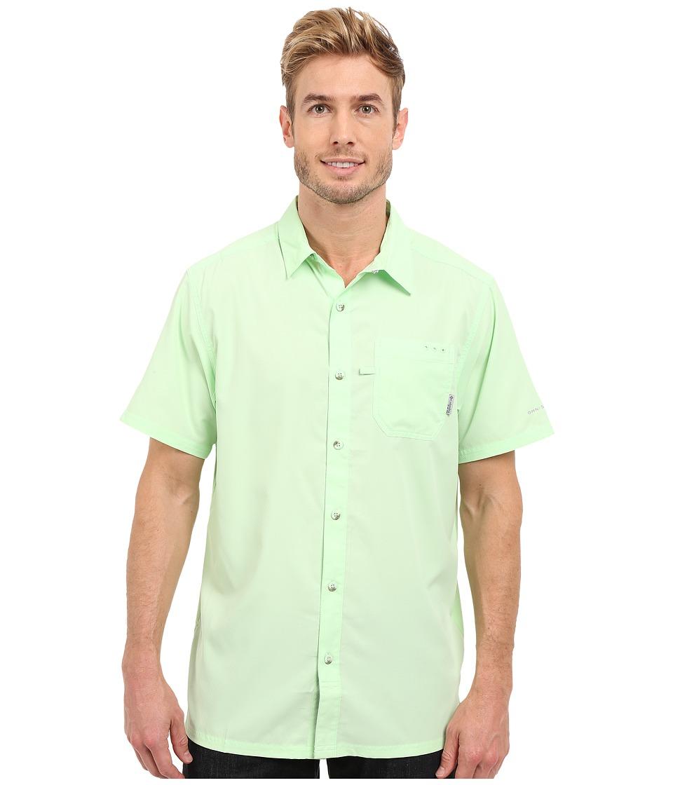 Columbia - Slack Tidetm Camp Shirt (Key West) Men's Short Sleeve Button Up