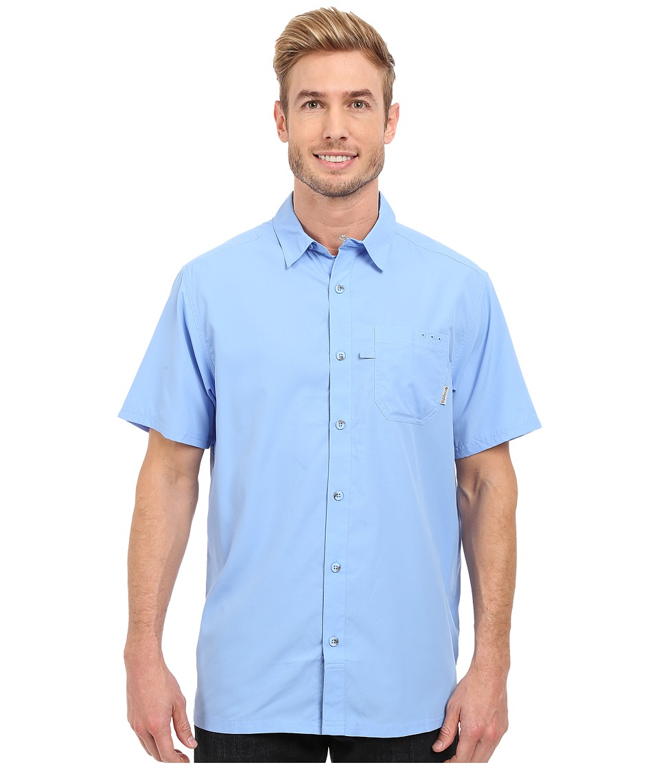 Columbia - Slack Tide Camp Shirt (White Cap) Men's Short Sleeve Button Up