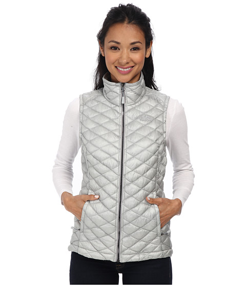 The North Face - ThermoBall Vest (High Rise Grey/Mid Grey) Women's Vest