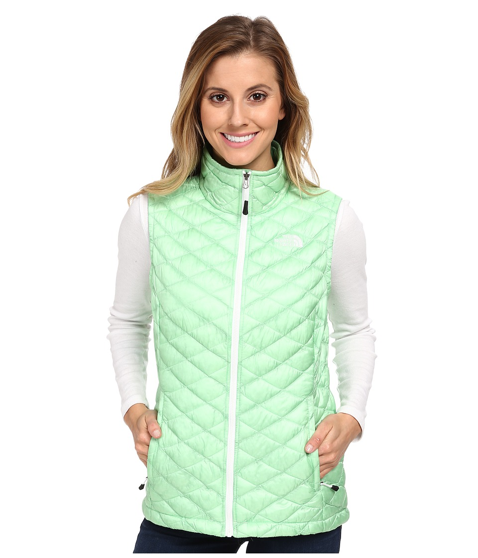 The North Face - ThermoBall Vest (Green Ash) Women
