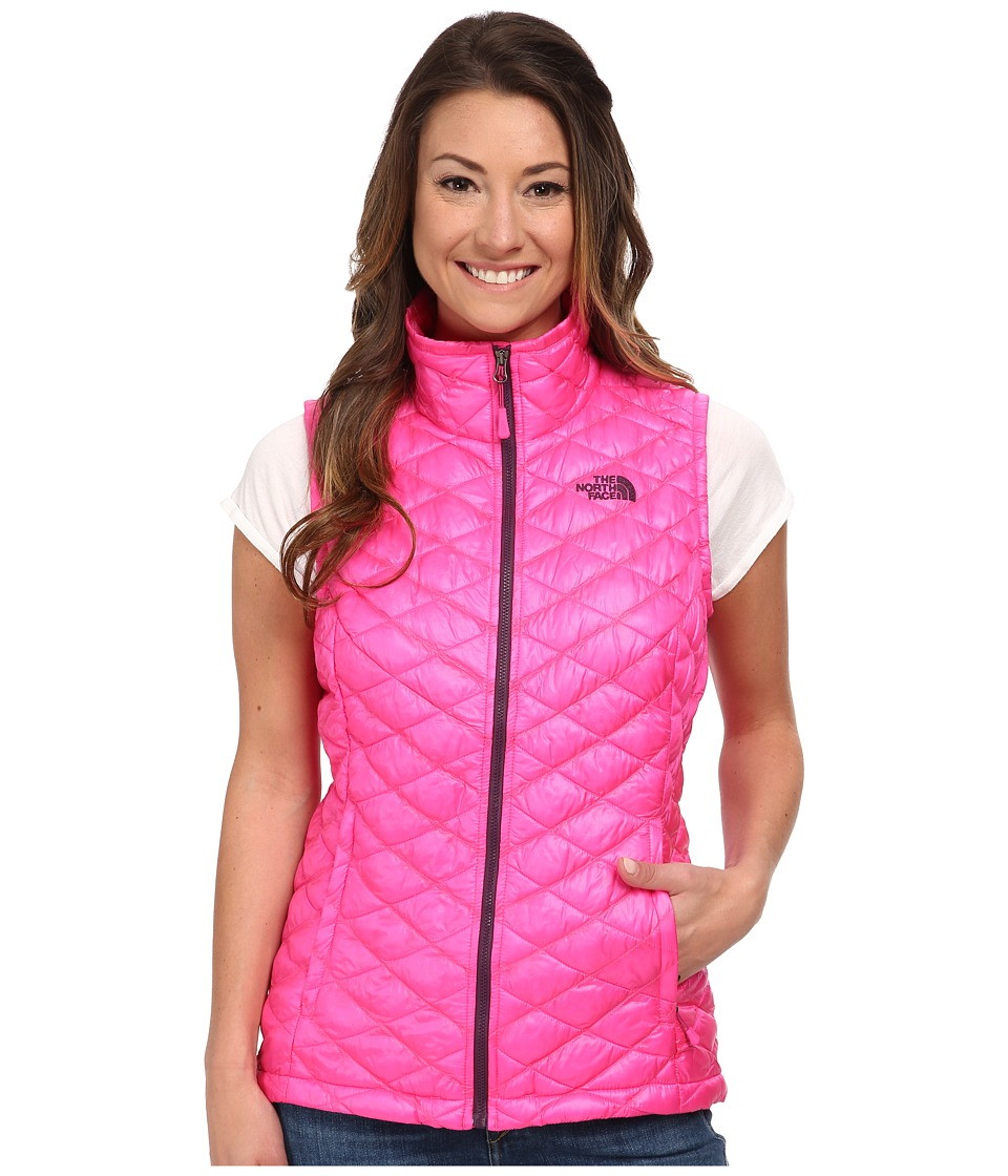 The North Face - ThermoBall Vest (Glo Pink) Women's Vest