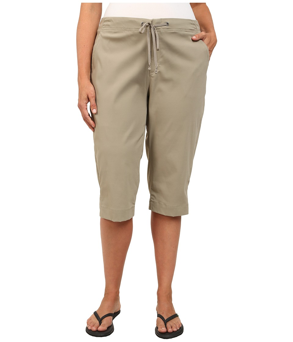 Columbia - Plus Size Anytime Outdoor Capri (Tusk) Women's Capri