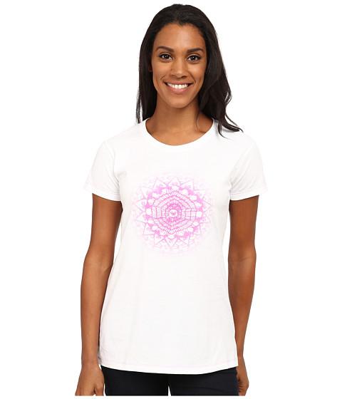 Mountain Hardwear - Graphic S/S Crew Neck Tee (White) Women