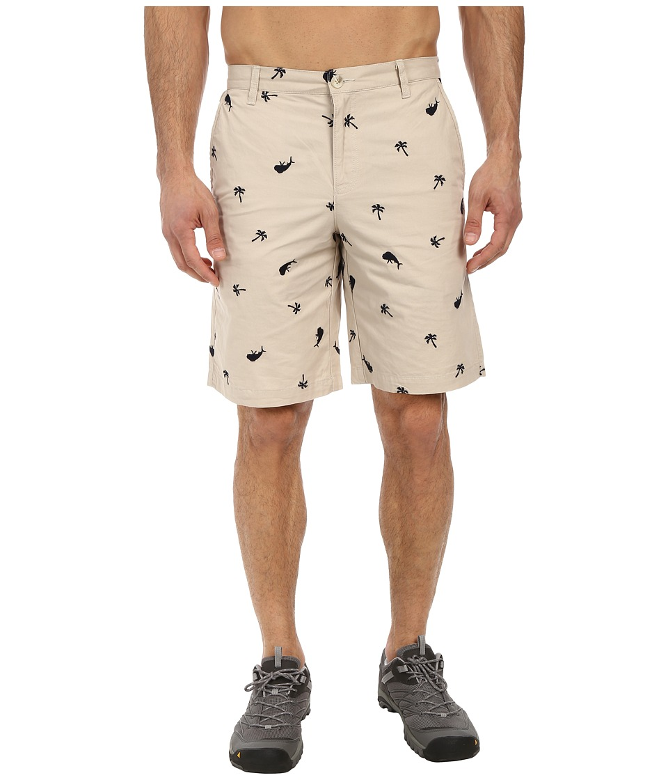 Columbia - Super Bonehead Short (Fossil Dorado Palms) Men's Shorts