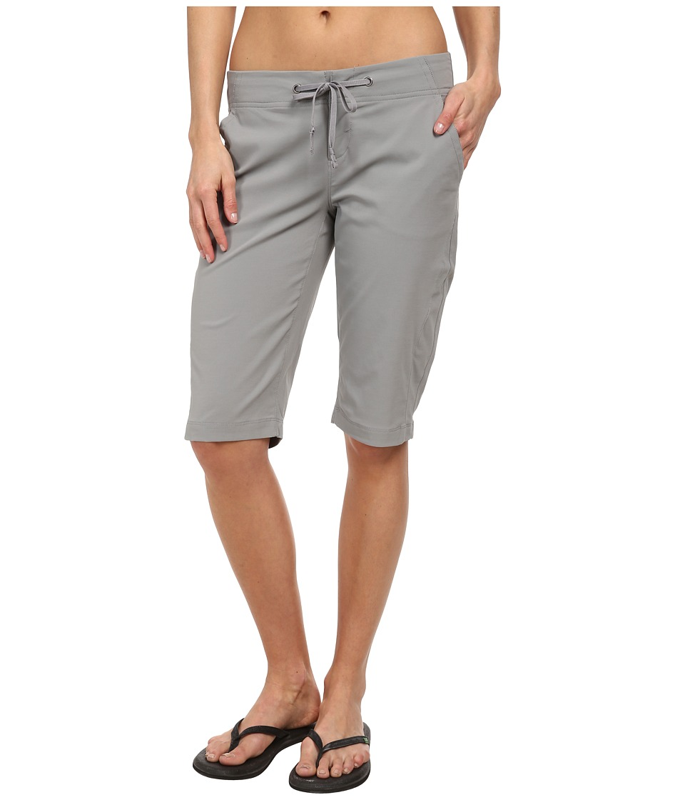Columbia - Anytime Outdoor Long Short (Light Grey) Women's Shorts