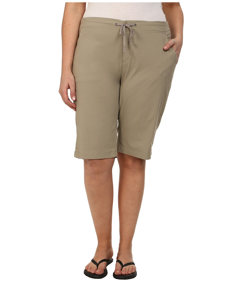 Columbia - Plus Size Anytime Outdoor Long Short (Tusk) Women's Shorts