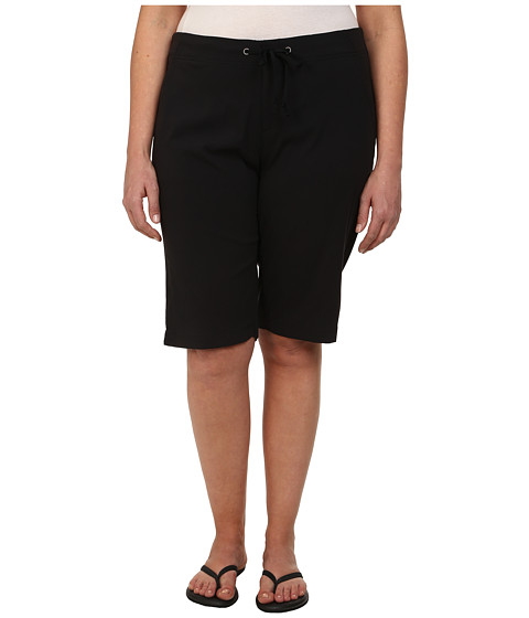 Columbia - Plus Size Anytime Outdoor Long Short (Black) Women