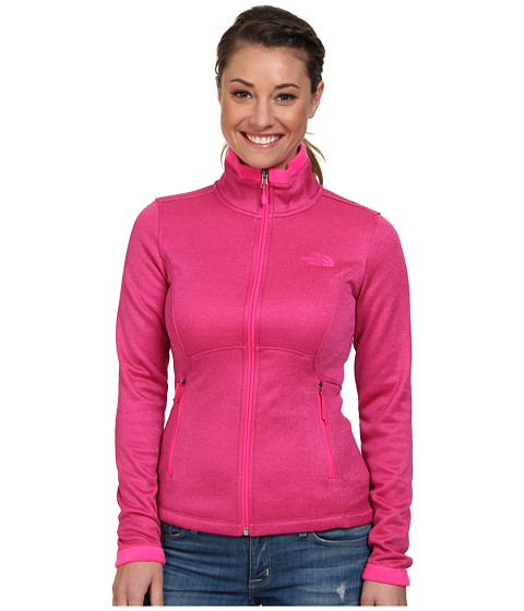 The North Face - Agave Jacket (Fuchsia Pink Heather) Women's Coat