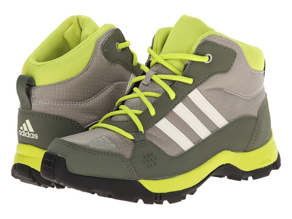 adidas Outdoor Kids - Hyperhiker (Little Kid/Big Kid) (Tech Beige/Black/Semi Solar Yellow) Kids Shoes