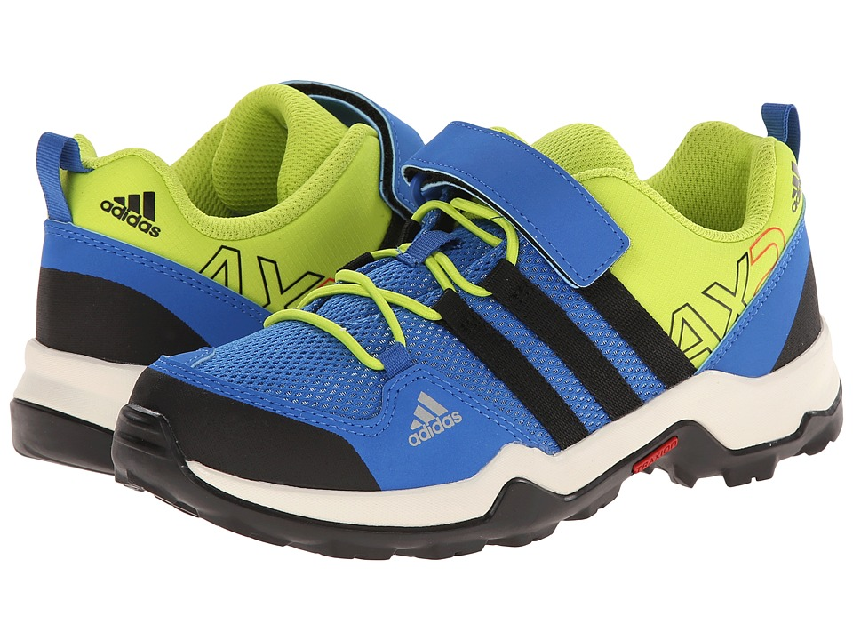 Image of adidas Outdoor Kids - AX2 CF (Little Kid/Big Kid) (Bright Royal/Black/Lucky Blue) Kids Shoes