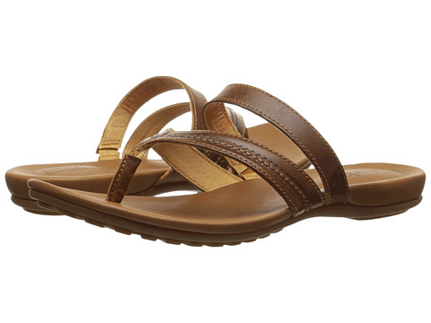 Timberland - Earthkeepers Harborview Thong (Buckthorne Brown Journeymen) Women's Sandals