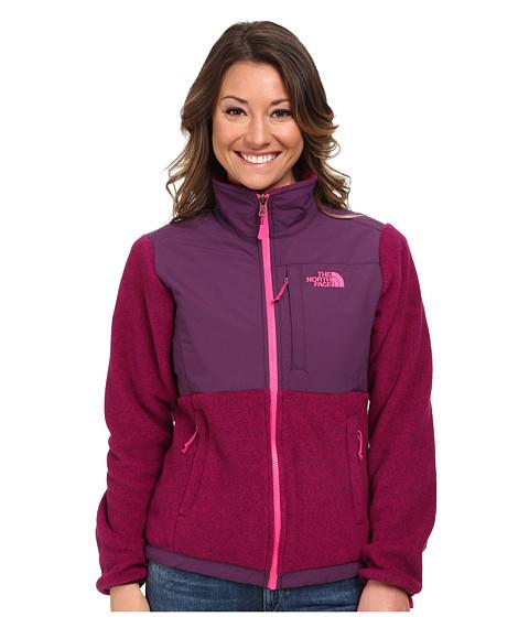 The North Face - Denali Jacket (R Fuchsia Pink Heather/Black Currant Purple) Women