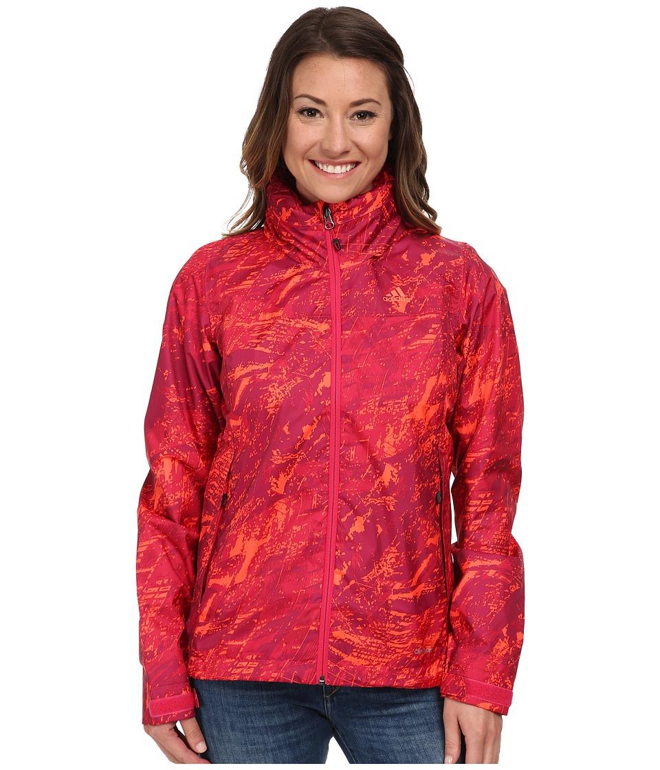 adidas Outdoor - Wandertag Infinite Series Jacket (Vivid Berry) Women's Coat