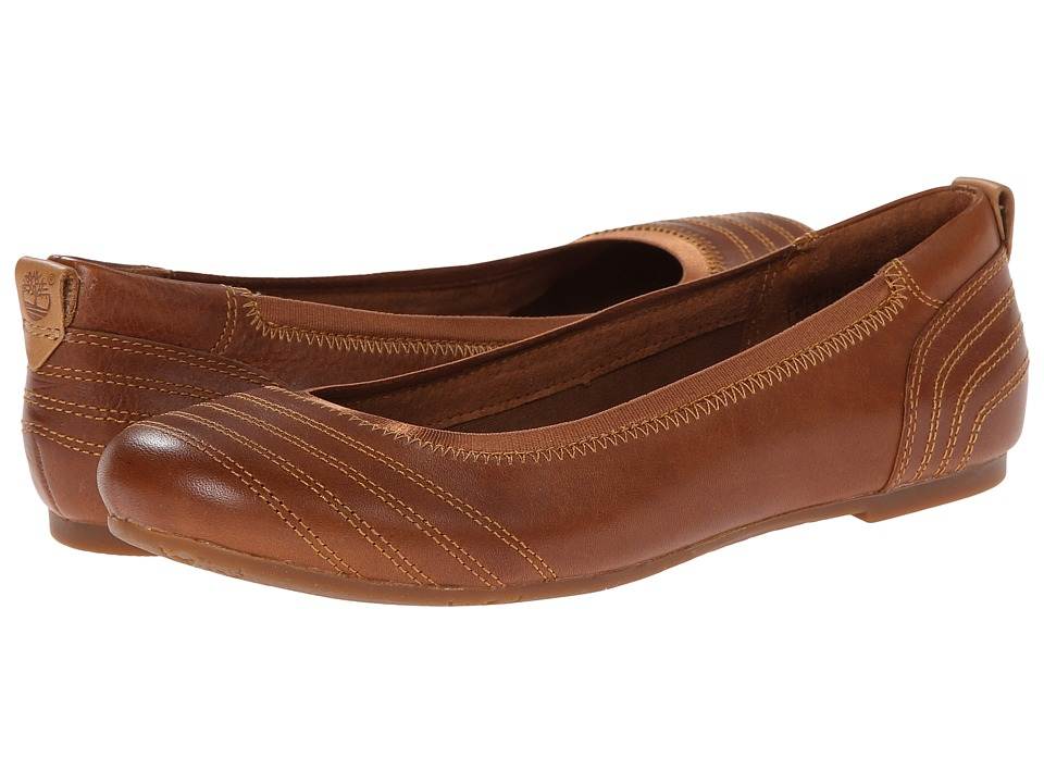 Timberland - Earthkeepers Ellsworth Ballerina (Buckthorne Brown Journeymen) Women's Flat Shoes