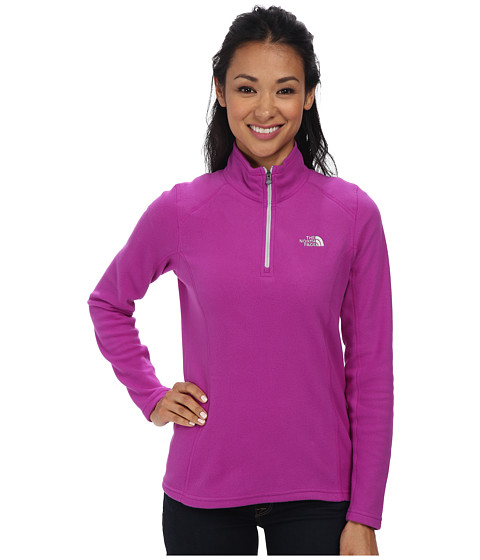 The North Face - Glacier 1/4 Zip (Magic Magenta) Women's Sweatshirt