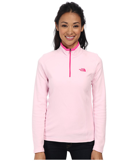 The North Face - Glacier 1/4 Zip (Pink Lady) Women's Sweatshirt