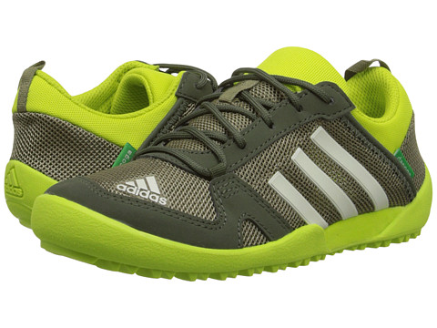 adidas Outdoor Kids - Daroga Two (Little Kid/Big Kid) (Cargo/Chalk White/Base Green) Boys Shoes