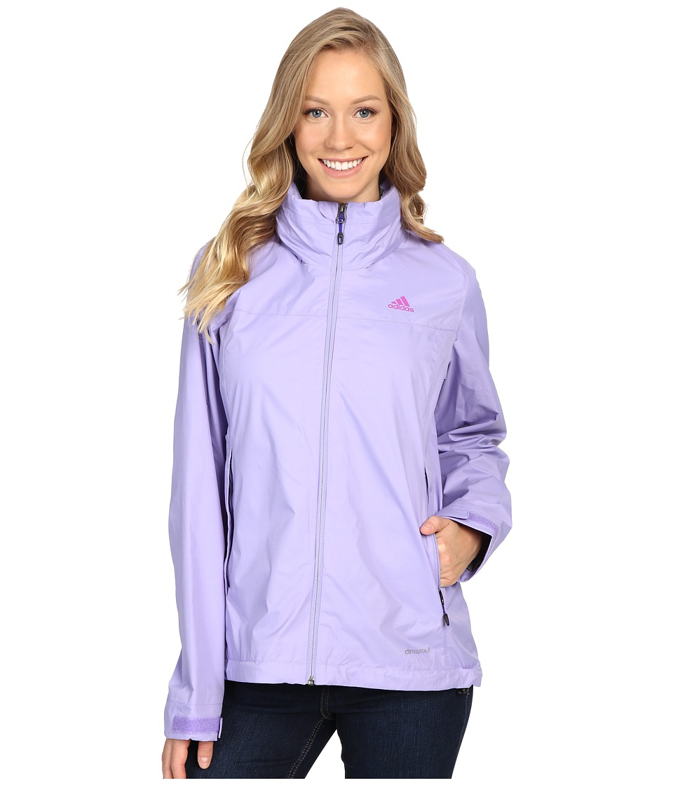 adidas Outdoor - Hiking Wandertag Jacket (Light Purple) Women's Coat