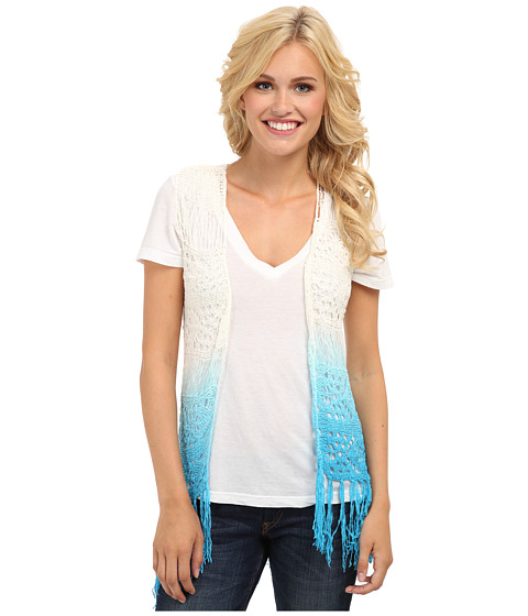 Rock and Roll Cowgirl - Vest (Bright Turquoise) Women