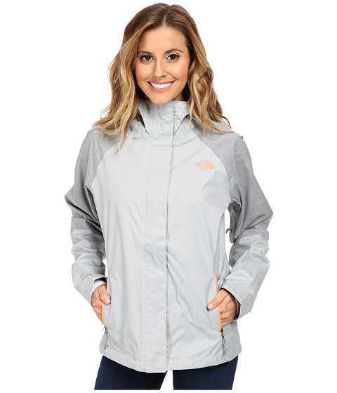The North Face - Venture Hybrid Jacket (High Rise Grey/High Rise Grey Heather) Women