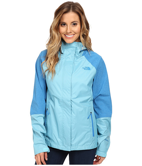 The North Face - Venture Hybrid Jacket (Fortuna Blue/Clear Lake Blue Heather) Women's Jacket