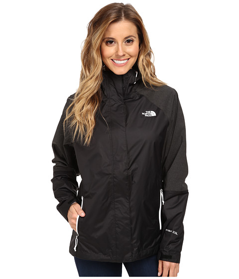 The North Face - Venture Hybrid Jacket (TNF Black/TNF Black Heather) Women