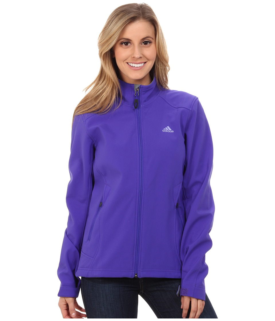 adidas Outdoor - Hiking Soft Shell Jacket (Night Flash) Women's Jacket