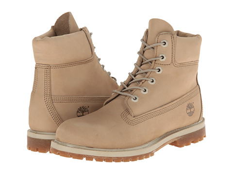Timberland - 6 Premium Boot (Off White Nubuck) Women