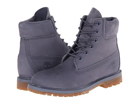 Timberland - 6 Premium Boot (Folkstone Grey Nubuck) Women