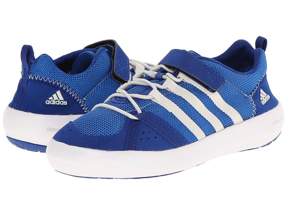 adidas Outdoor Kids Climacool Boat CF (Little Kid/Big Kid) (Collegiate Royal/Chalk White/Bright Royal) Boys Shoes
