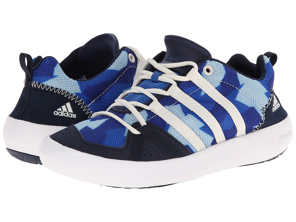 adidas Outdoor Kids - Climacool Boat Lace (Little Kid/Big Kid) (Bright Royal/Chalk White/Collegiate Royal) Boys Shoes
