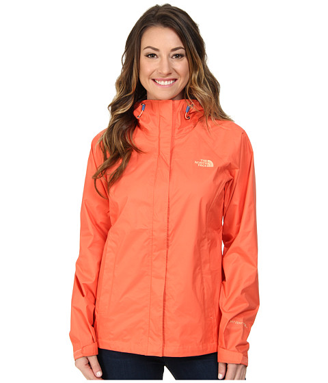 The North Face - Venture Jacket (Emberglow Orange) Women's Clothing