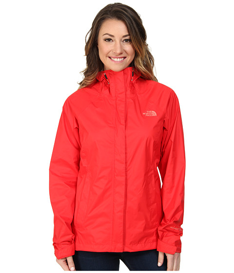 The North Face - Venture Jacket (Tomato Red) Women