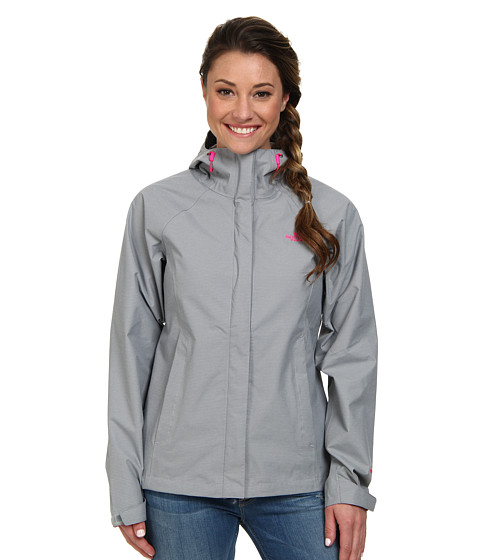 The North Face - Venture Jacket (Mid Grey Heather) Women's Clothing