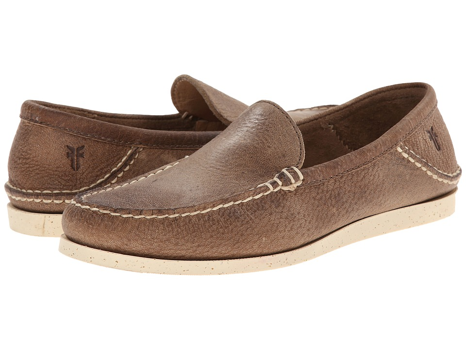 Frye - Mason Venetian (Tan Elk Leather) Men's Slip on Shoes