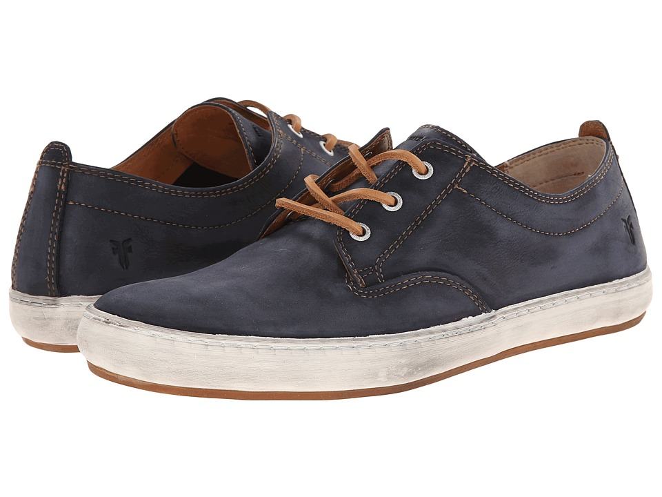 Frye - Norfolk Deck (Indigo Sunwash Nubuck) Men's Lace up casual Shoes