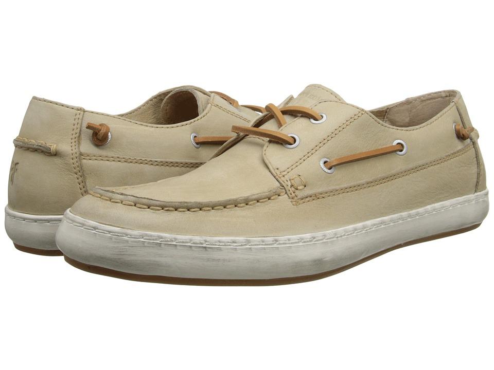 Frye - Norfolk Moc (Cement Sunwash Nubuck) Men's Slip on Shoes