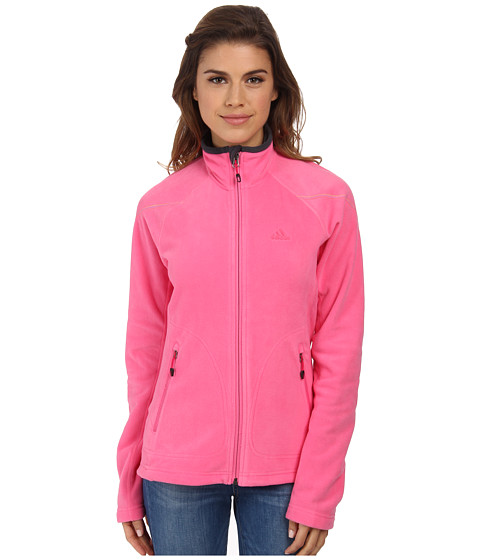 adidas Outdoor - Hiking Reachout Jacket (Semi Solar Pink) Women's Jacket