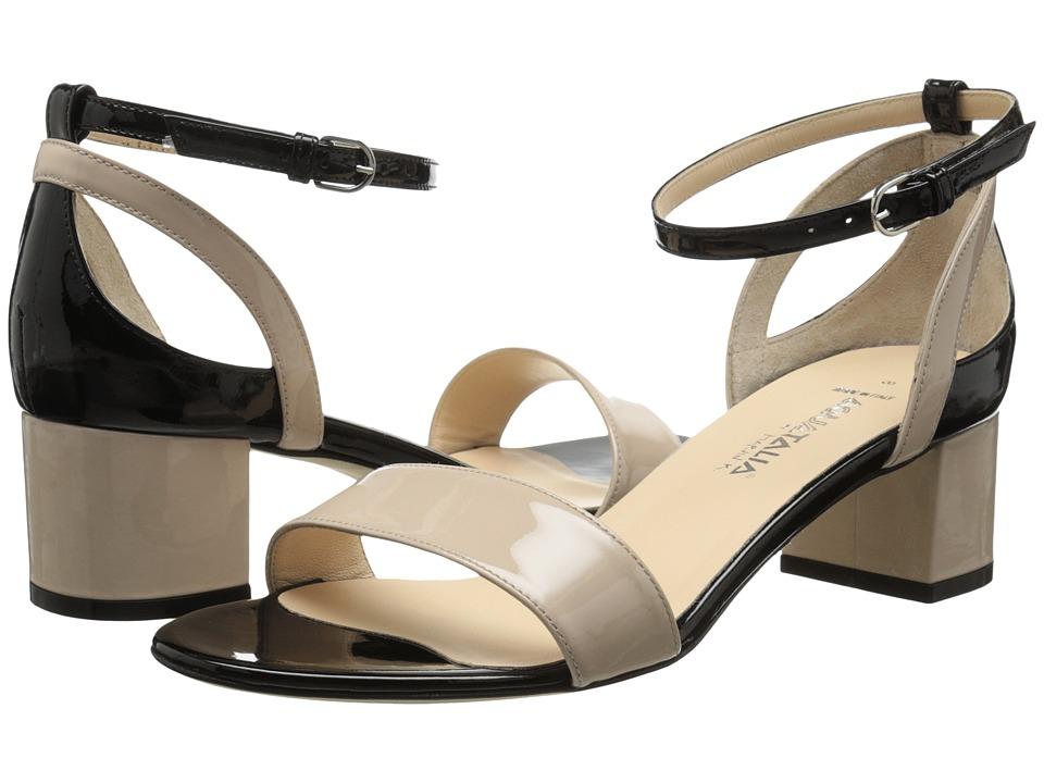 Aquatalia - Classy (Blush/Black Combo) Women's Sandals