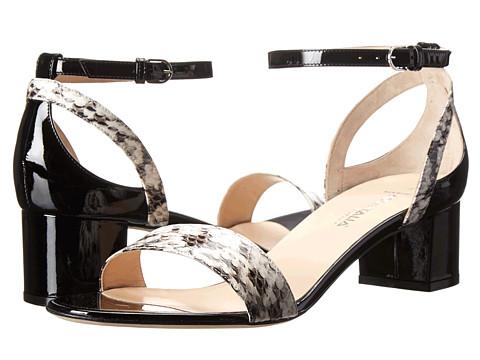 Aquatalia - Classy (Black Watersnake Combo) Women's Sandals