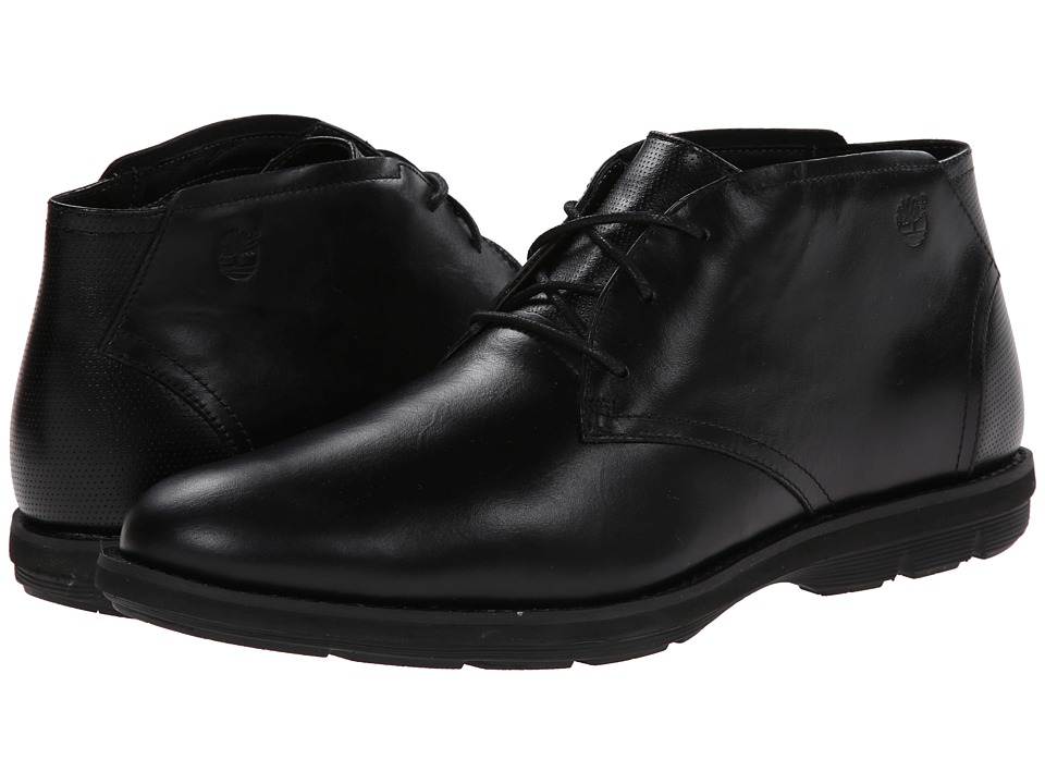 Timberland - Earthkeepers Kempton Chukka (Black Smooth) Men's Shoes