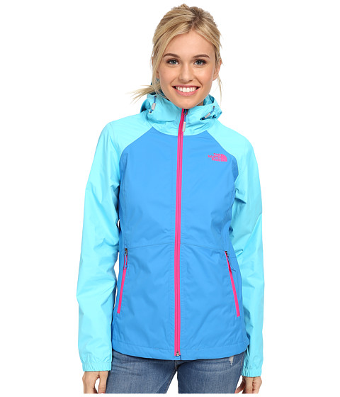 The North Face - Allabout Jacket (Clear Lake Blue/Fortuna Blue) Women's Jacket