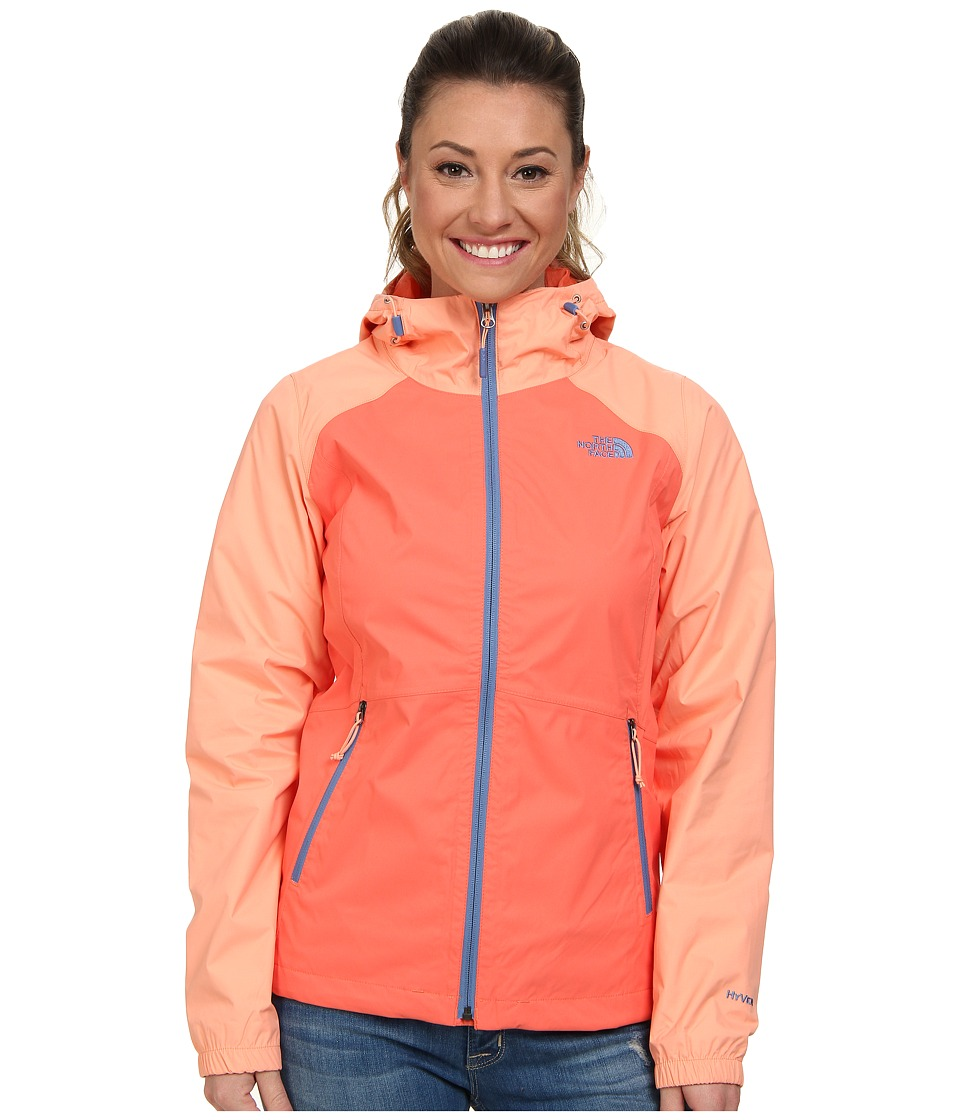 The North Face - Allabout Jacket (Emberglow Orange/Punch Orange) Women's Jacket