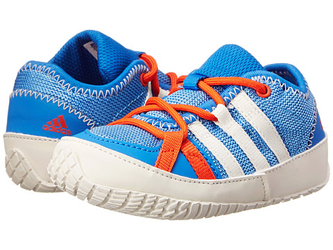 adidas Outdoor Kids - Boat Lace (Infant/Toddler) (Lucky Blue/Chalk White/Bright Royal) Boys Shoes